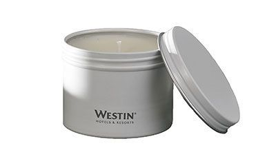 Westin White Tea Candle